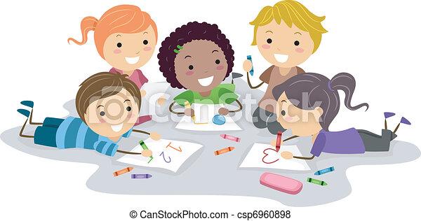 Art Class - csp6960898