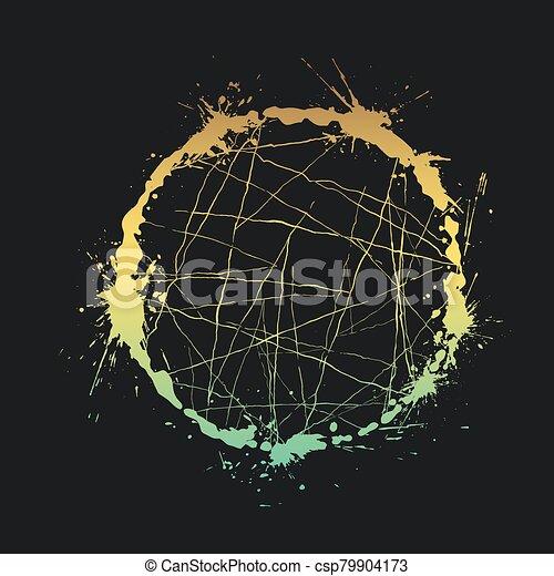 art color circle - csp79904173