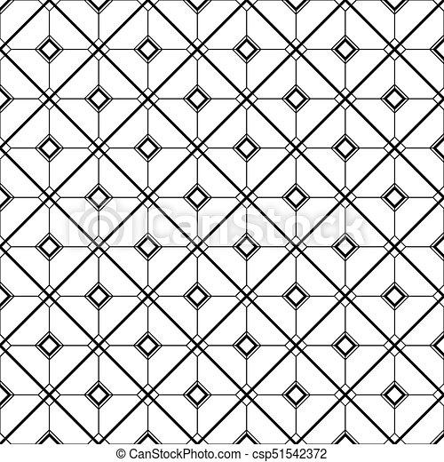 Art Deco Monochrome Seamless Arabic Black And White Wallpaper