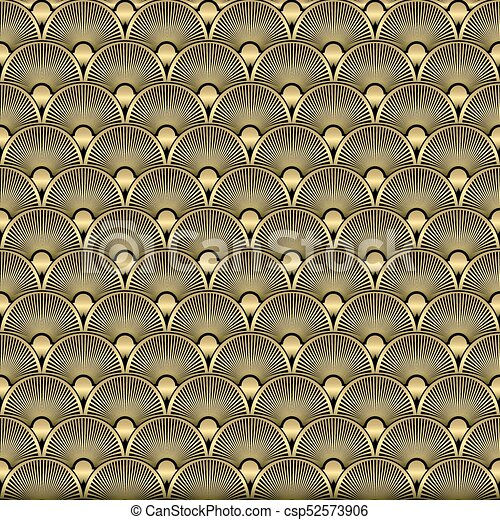 Art deco seamless pattern background vector illustration vector art deco seamless pattern background vector voltagebd Images