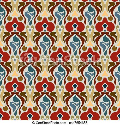 Art deco seamless pattern - csp7654656