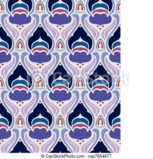 Art deco seamless pattern - csp7654677