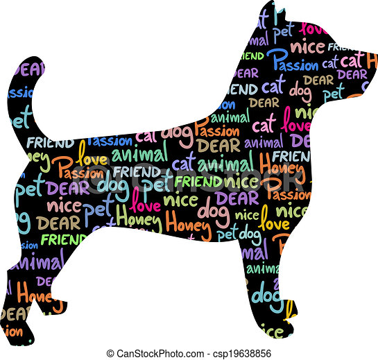 Art dog - csp19638856