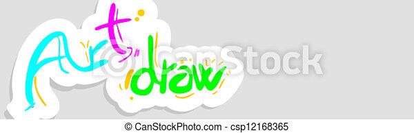 Art draw - csp12168365