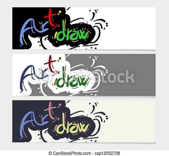 Art draw - csp12032708