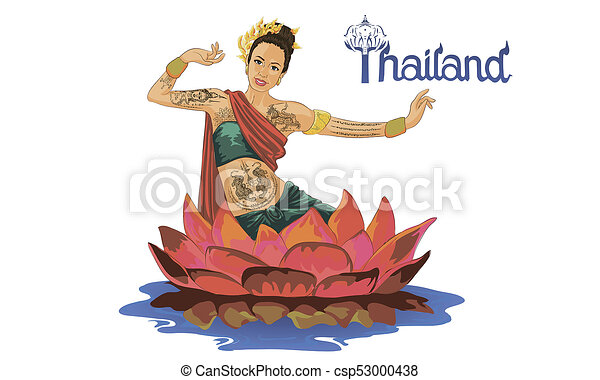 Art Drawing Of Thailand Dancing Art Thai Classical Dance Is The Main Dramatic Art Form Of Thailand Thai Dance Like Many