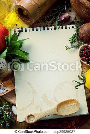 art food recipes - csp29925027