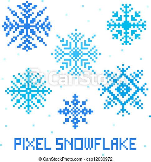 Art Hiver Modèle Seamless Pixel Fond Noël