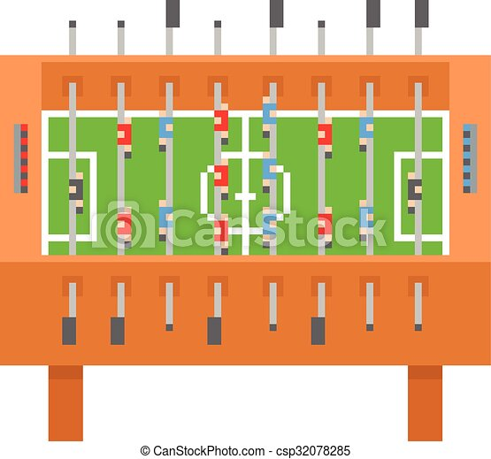 Art Illustration Football Kicker Vecteur Table Barre Football Pixel