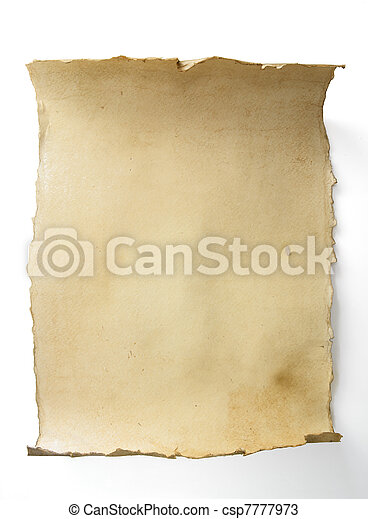 Art old scroll - csp7777973