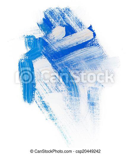 art petit morceau gouache tache tache texture peinture coup brosse acrylique rugueux. Black Bedroom Furniture Sets. Home Design Ideas