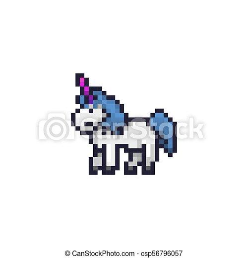 Art Pixel Licorne