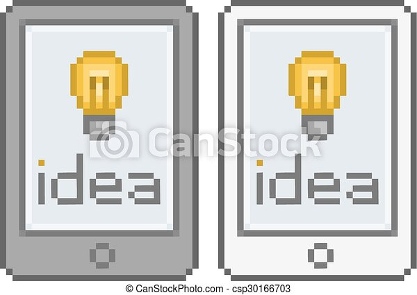 Art Pixel Tablette Idée