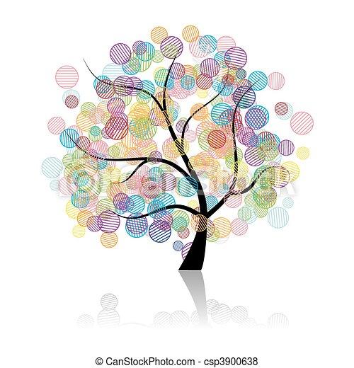 Art tree fantasy - csp3900638