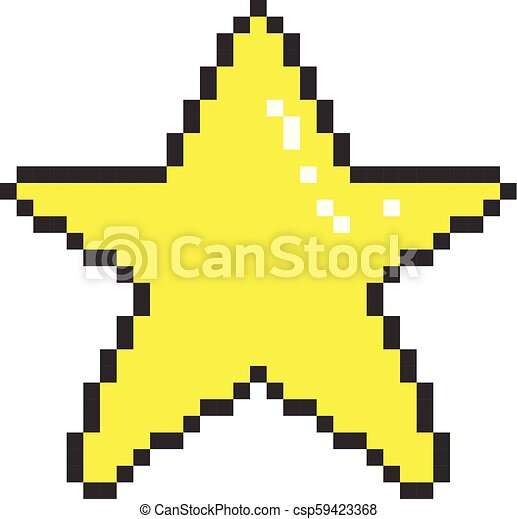 Dessin Pixel Etoile