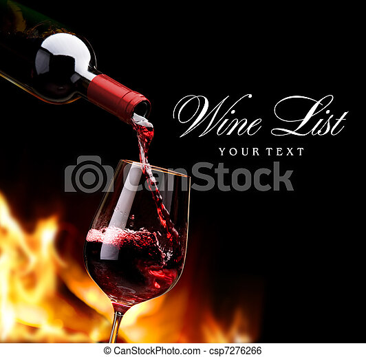 art wine list - csp7276266