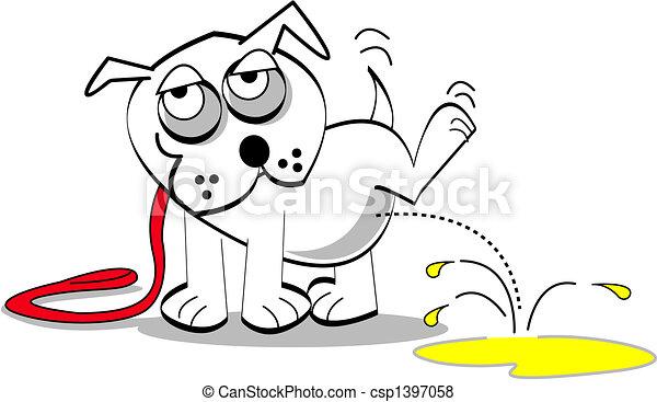 arte, cão, clip - csp1397058