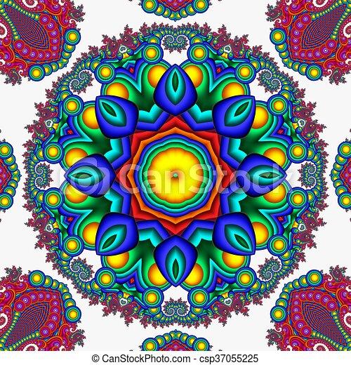 Arte Caso Abstratos Aquilo Mandala Desenho Postais Uso