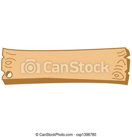 Arte fronterizo de carteles de madera occidental - csp1396780