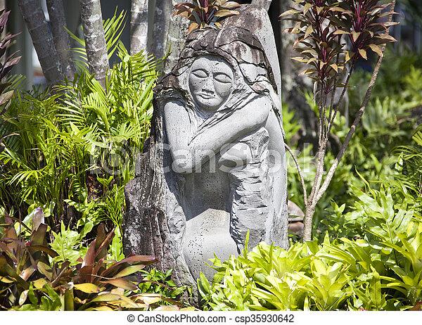 Arte en Hawaii - csp35930642
