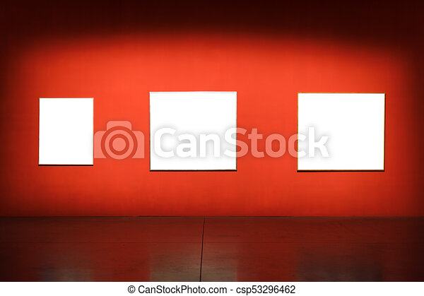 Arte, pared, museo, marco recargado, mínimo, design. Arte, pared ...
