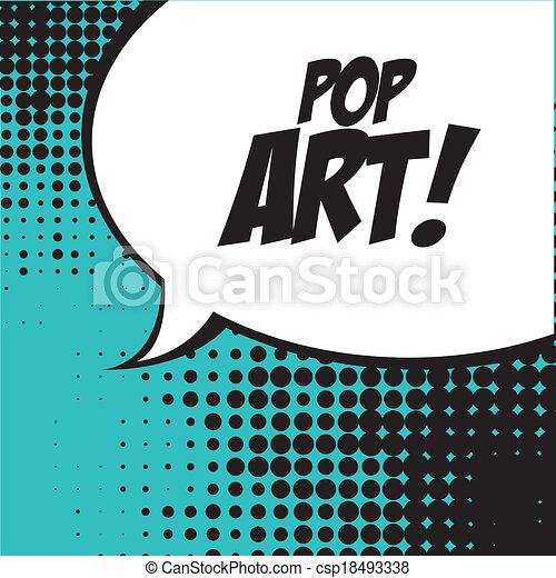 arte, pop - csp18493338