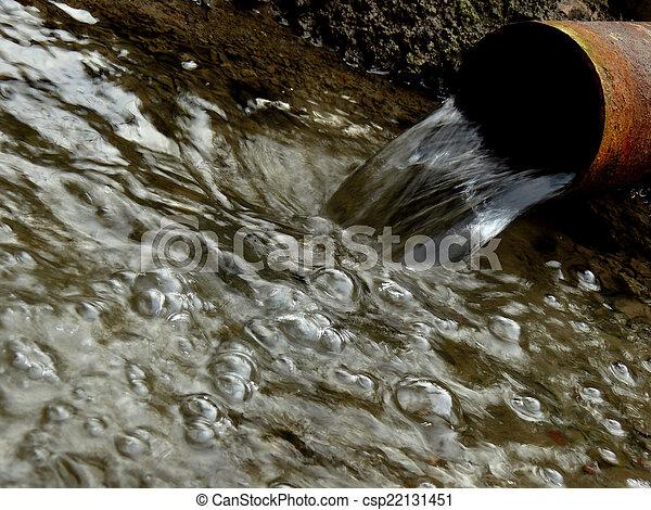 artesian water stream - csp22131451