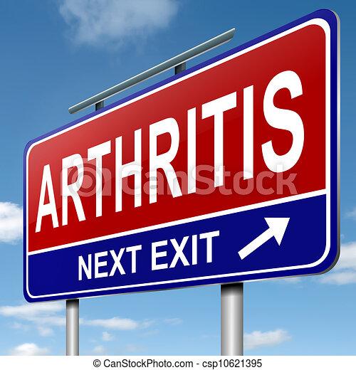 Arthritis concept. - csp10621395