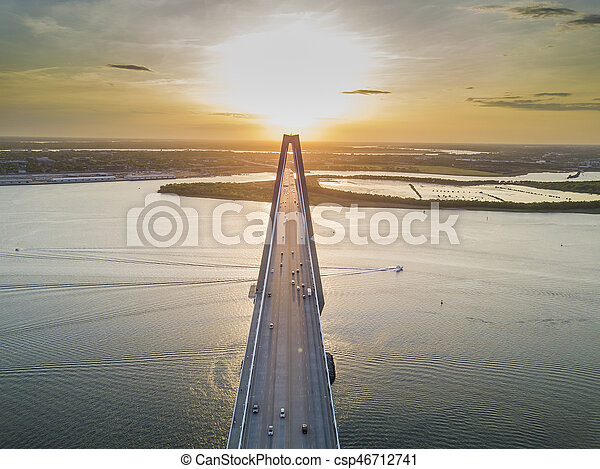 Arthur Revenel Bridge - csp46712741