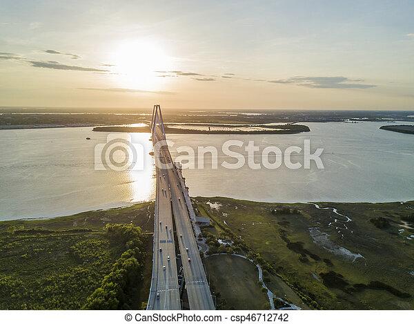 Arthur Revenel Bridge - csp46712742