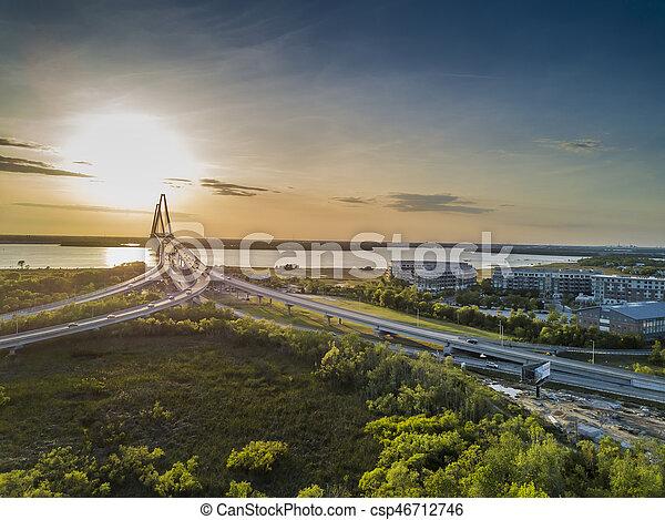 Arthur Revenel Bridge - csp46712746