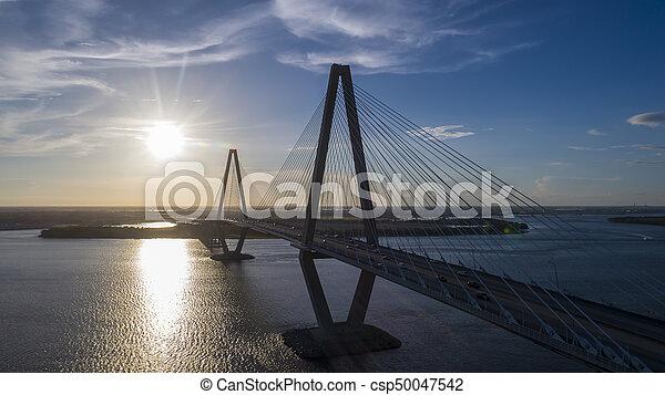Arthur Revenel Bridge - csp50047542