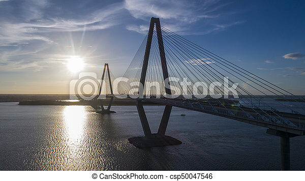 Arthur Revenel Bridge - csp50047546