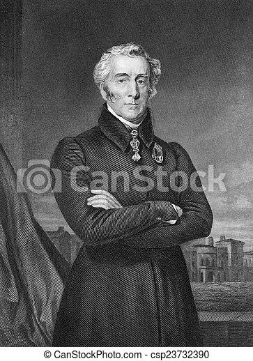 Arthur Wellesley, 1st Duke of Wellington - csp23732390