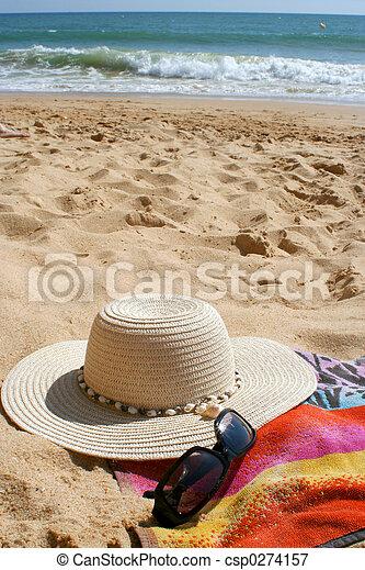 articles, plage - csp0274157
