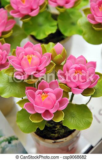 Artificial flowers beautiful bouquet of artificial lotus flowers artificial flowers csp9068682 mightylinksfo