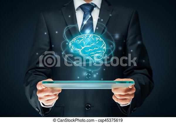Artificial intelligence - csp45375619