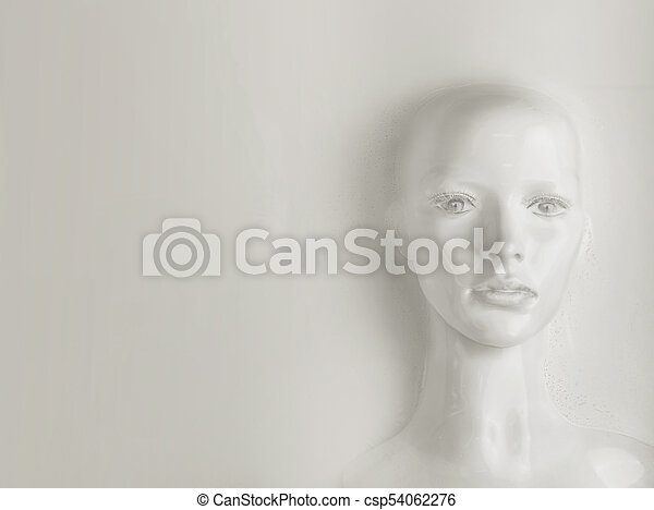 Artificial intelligence concept - human being - csp54062276