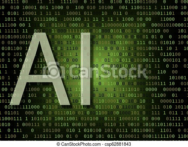 Artificial intelligence over binary background - csp62881843