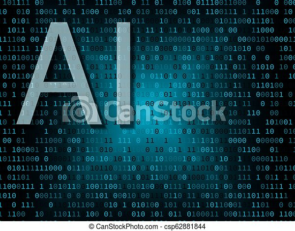 Artificial intelligence over binary background - csp62881844