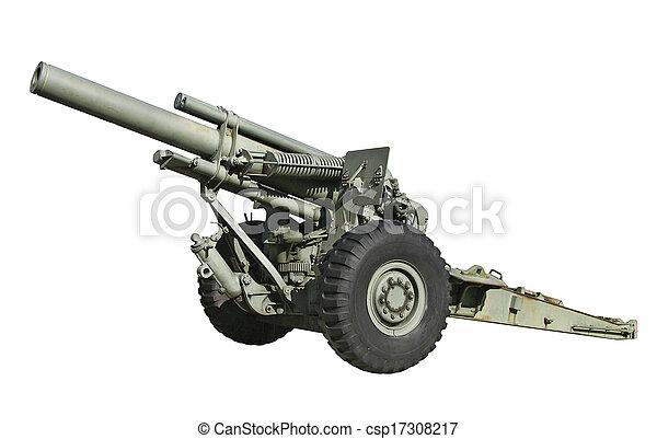 Artillery Gun - csp17308217