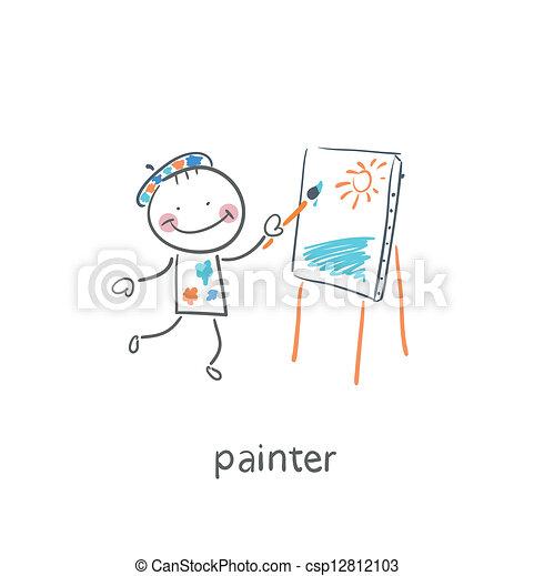 artist. - csp12812103