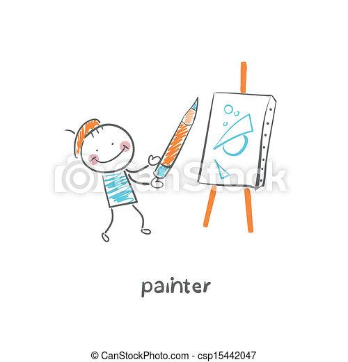 artista - csp15442047
