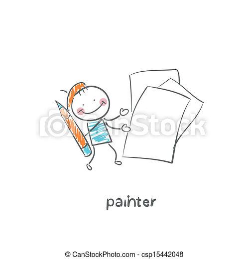 artista - csp15442048