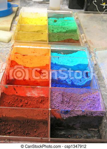 Artistic colors - csp1347912