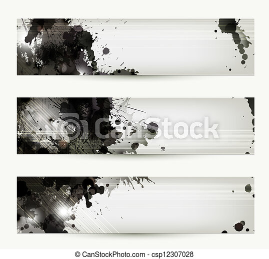 artistic headers - csp12307028