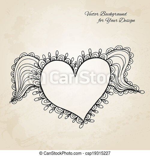 Artistic vector background for Your design - csp19315227