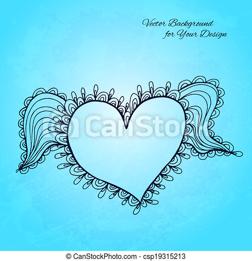 Artistic vector background for Your design - csp19315213