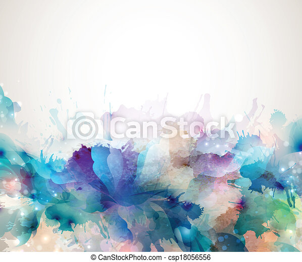 artistisk, bakgrund - csp18056556