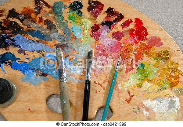 Artist\\\'s Palette wit - csp0421399